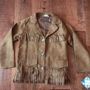 Other - Girls Size 5T Fringe Jacket